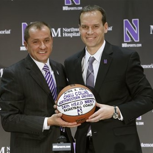 Northwestern's Coach Collins speaks on his new role and hoops history