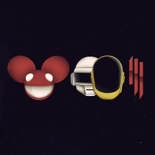 Deadmau5.Daft Punk.Skrillex Mix 2013