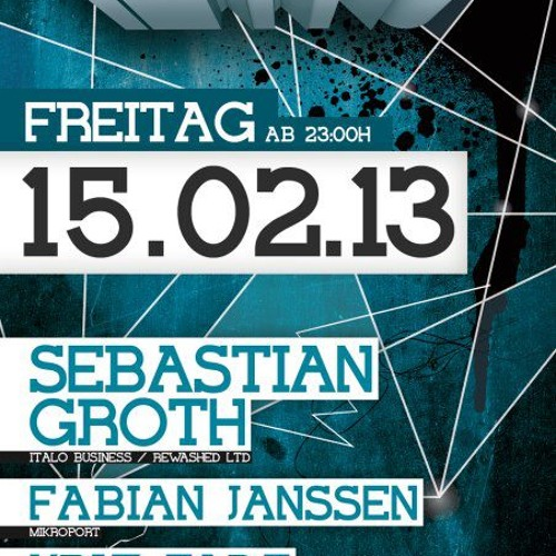 Sebastian Groth @ Freaky Tekkno  15-02-2013 (DJ SET - FREE DL)