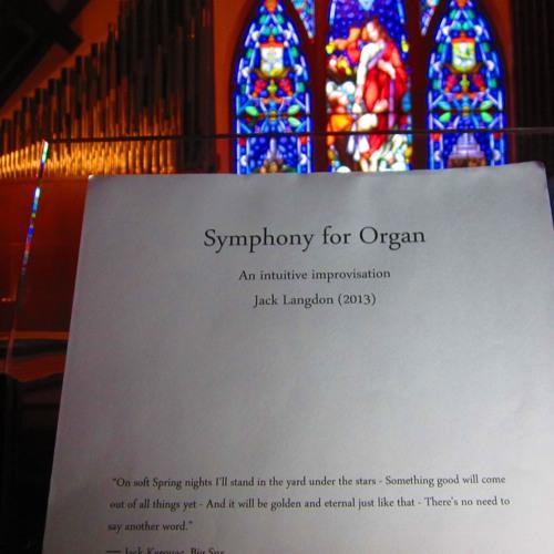 Symphony for Organ (St. Peter's Lutheran Church - April 9th, 2013)