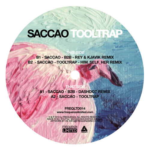 [Frequenza Limited] Saccao - B2B (Dashdot Remix) Frequenza Limited
