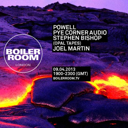 Joel Martin 45 min Boiler Room mix