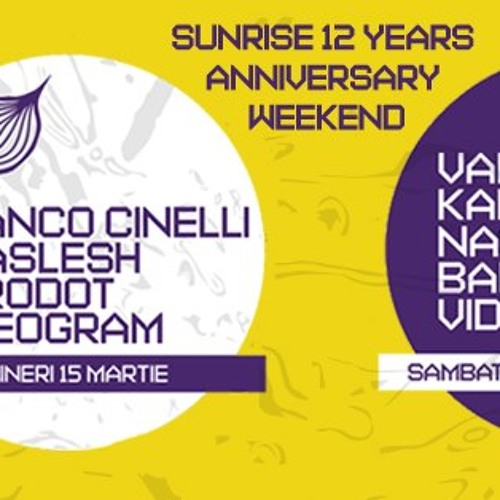 Franco Cinelli @ Kristal Bucharest 15.03.2013 Sunrise 12 Years Anniversary