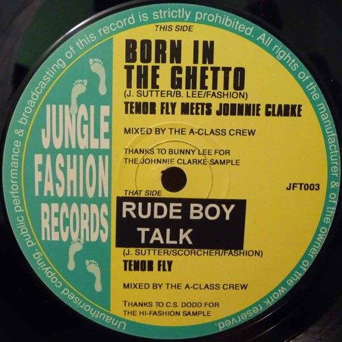 Tenor Fly - Rude Boy Talk (DJ K Remix) 2013