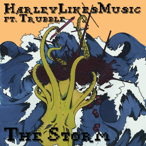 NCUBE0006 - HarleyLikesMusic - The Storm ft. Trubble (Monster! Monster! remix)