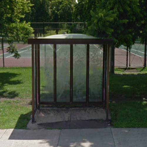 Answer: why are those old bus shelters from the 1970s still around Chicago?