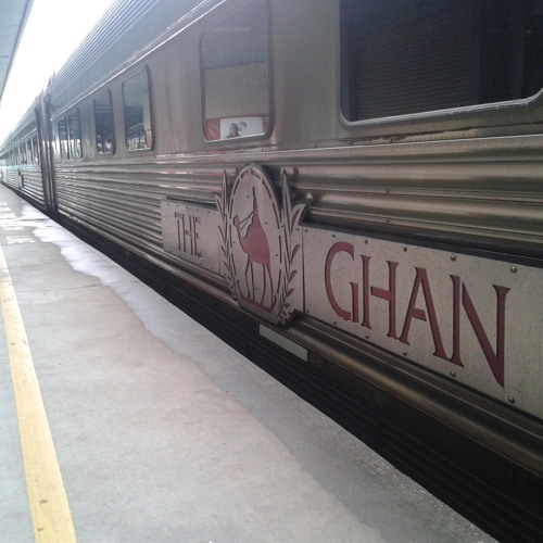Night vibrations on The Ghan