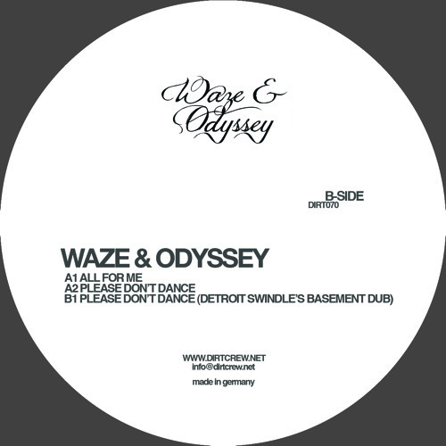 Waze & Odyssey - Please Don't Dance EP