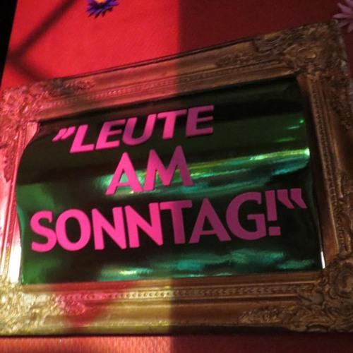 Fritz Herzrasen @ LEUTE.am.Sonntag.Spezial #2 - 31.03.2013 - Funambules - Lübeck