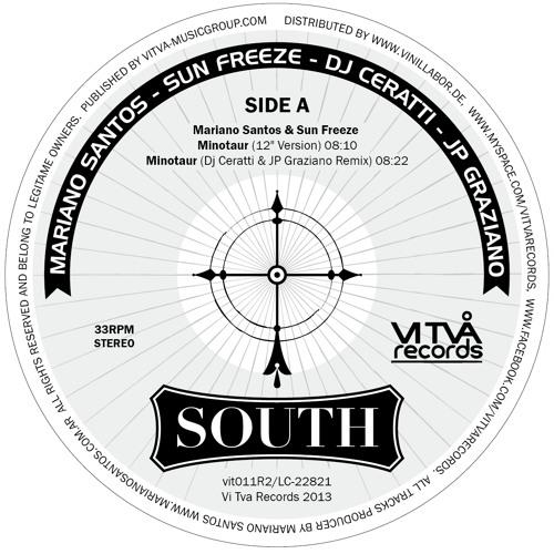 Minotaur (12 Version) - Mariano Santos & Sun Freeze by Vi Två Records (Germany)(Vinyl)