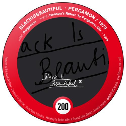 BlackIsBeautiful - Pergamon | 200 009