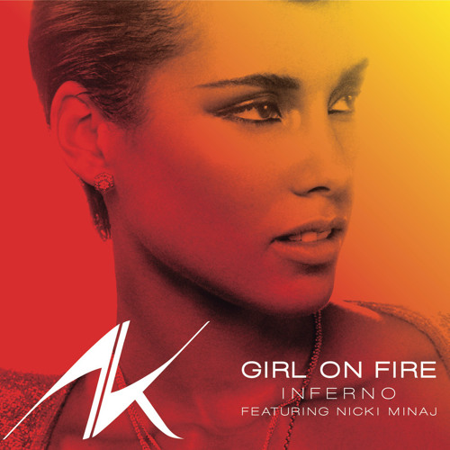 ** A K  ** - Girl On Fire  (William Bhall Private Mix)