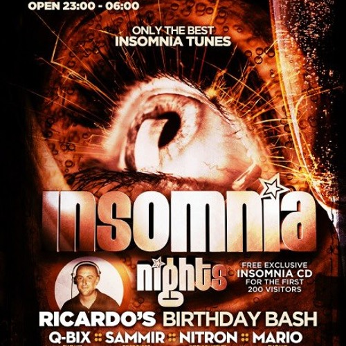 RICARDO vs TOMMY @ INSOMNIA NIGHTS 06.04.2013 (LA GOMERA)