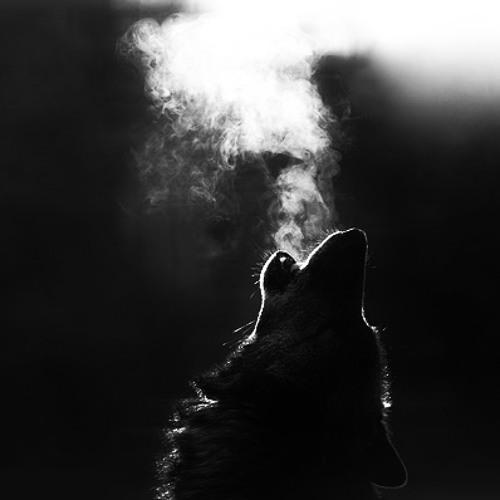 Картинка волка из которого выходит дым