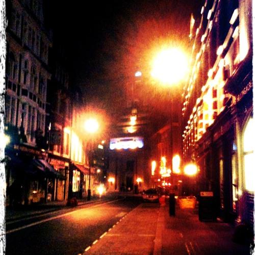 Walking at midnight
