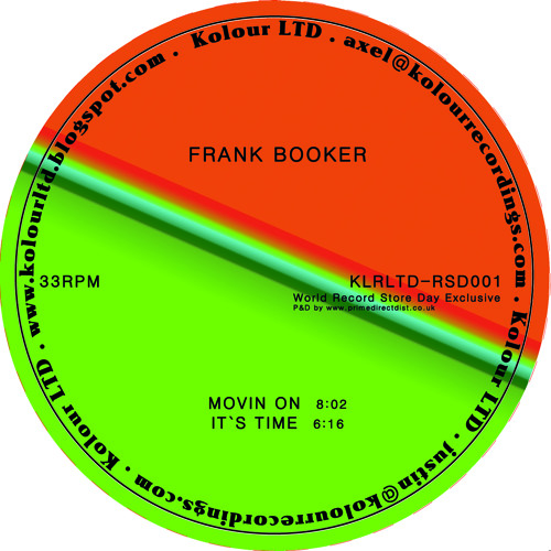 A1 - Frank Booker - Movin' On