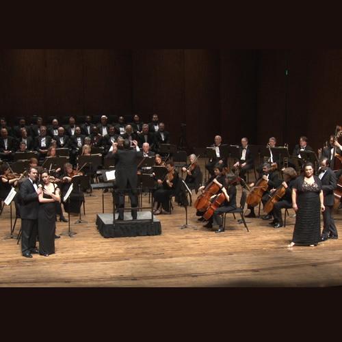 "Seattle Opera ""VIVA VERDI!"" RIGOLETTO Quartet Deborah Nansteel, Dana Pundt, Hunter Enoch, Theo Lebow"