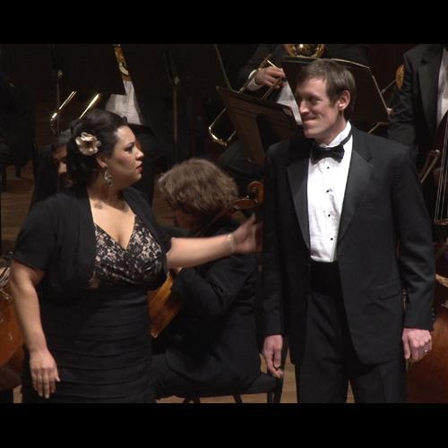 "Seattle Opera ""VIVA VERDI!"" Dana Pundt, Deborah Nansteel, Matthew Scollin RIGOLETTO Murder Scene"