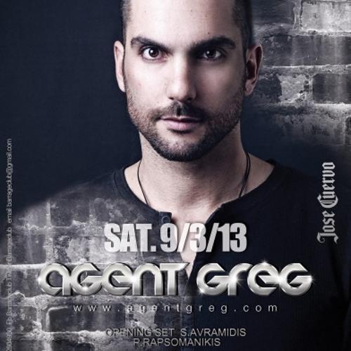 Agent Greg live @ Barrage Club(Zakynthos-Greece)9 March 2013