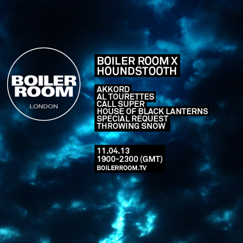 Al Tourettes 45 min Boiler Room mix