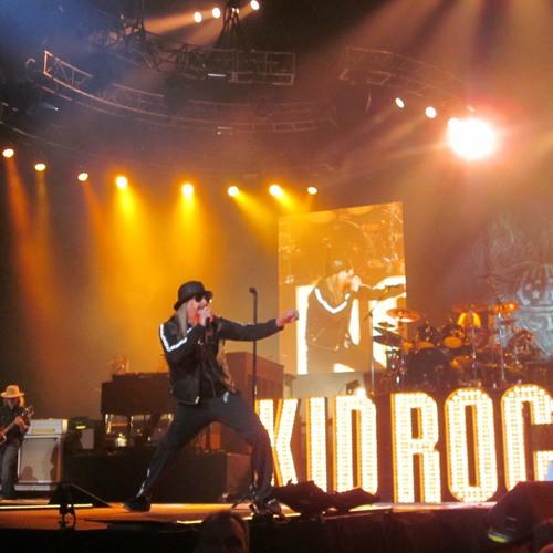 Kid Rock on Bob Seger's tour, Xcel Energy Center, Saint Paul, Minn., March 15, 2013