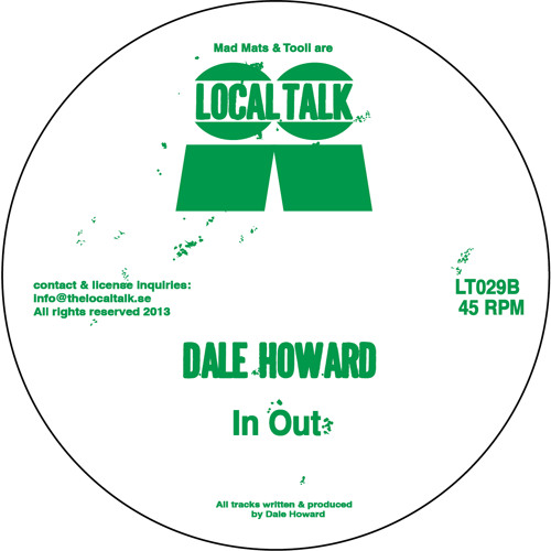 Dale Howard - In Out (LT029, Side B1) (Snippet)