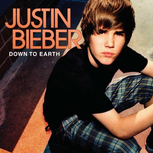 Justin Bieber - Down To Earth cover