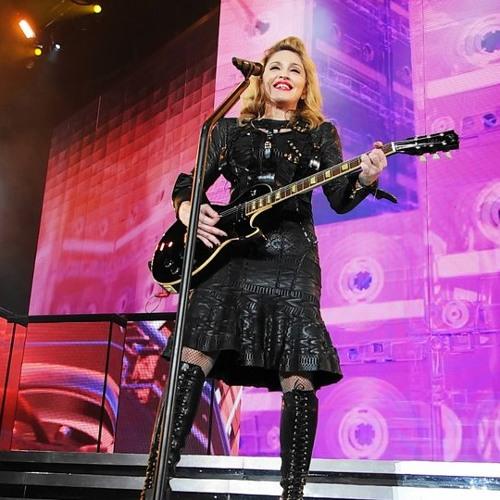 Madonna - Turn up the Radio (Guitar Cover Demo)