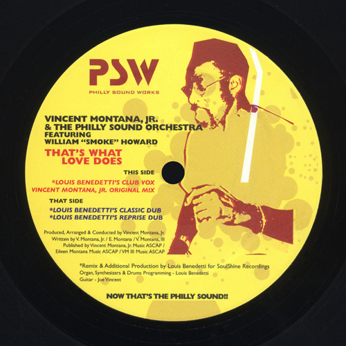 Vincent Montana, Jr. - That's What Love Does (Louis Benedetti's Club Vox)
