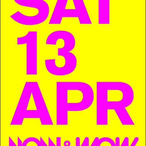 Benny Rodrigues @ Now&Wow Fest, Maassilo, Rotterdam (13-4-2013)