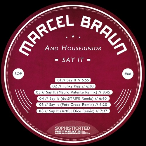 Marcel Braun & Housejunior - Funky Kiss (Original Mix)