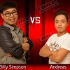 Billy Simpson VS Andreas - I Won't Give Up - The Voice Indonesia - Battle Round 2