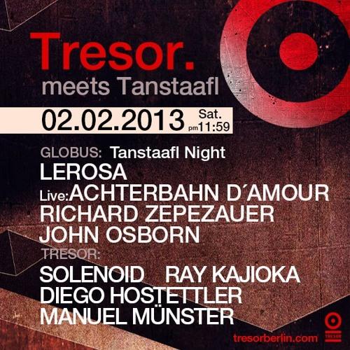 Ray Kajioka @ Tresor Berlin 2013-02-02