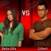Belia Ulfa VS Gilbert Pohan - Cinta dan Sayang - The Voice Indonesia - Battle Round 4