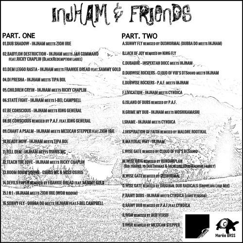 MBLP001/INJHAM & FRIENDS/A-SUNNY FLY remixed by DU3normal (DUBBA DO meets INJHAM)
