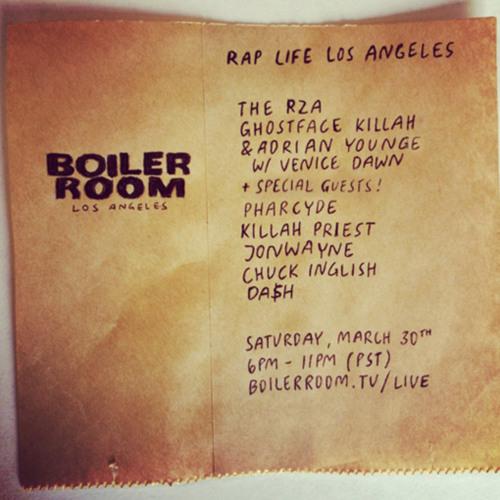 jonwayne - passing fancies Boiler Room Rap Life Los Angeles LIVE Show