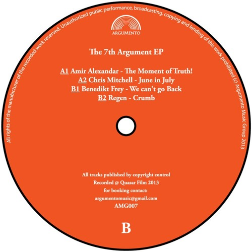 V/A - The 7th Argument EP (AMG007) out soon on vinyl