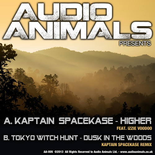 Kaptain Spacekase - Higher feat. Izzie Voodoo ( AA-005 )