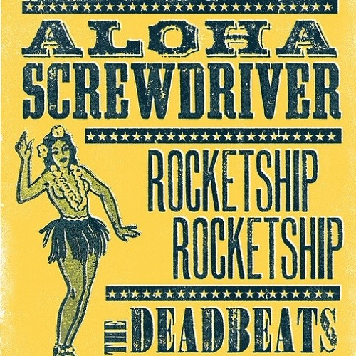 Aloha Screwdriver CD release show preview