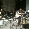 Collagene - for glissentar, alto guitar and orchestra