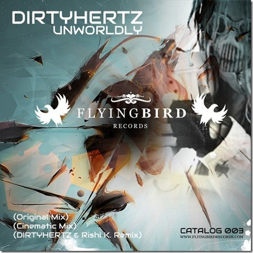 """Unworldly"" DIRTYHERTZ Flyingbird Records 2013"