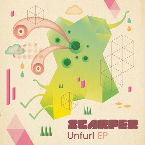 PLXS002 - SCARPER: 'Unfurl EP' Bubblecloud (Halftribe Remix)