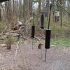 Bird Blind at the Cincinnati Nature Center in mid April