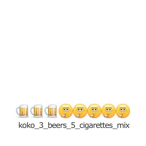 Shaddock Podcast #7 - Koko's 3 beers & 5 cigarettes mix