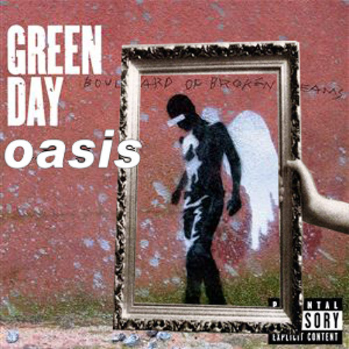 Green Day And Oasis - Lonely Wall
