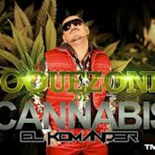El komander toquezones de cannabis.Epicenter Bass
