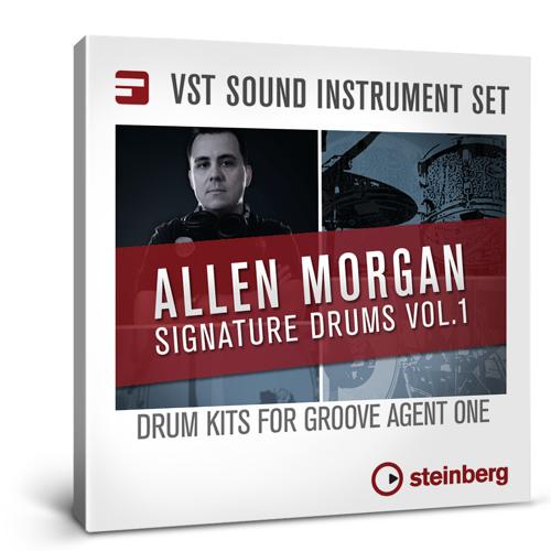 Allen Morgan Signature Drums Vol 1 - Demo Track Big Beats