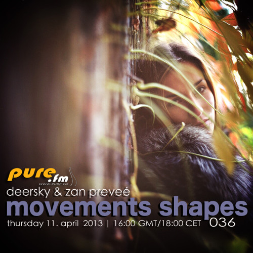 Deersky - Movements Shapes 036 [April 11 2013] on Pure.FM