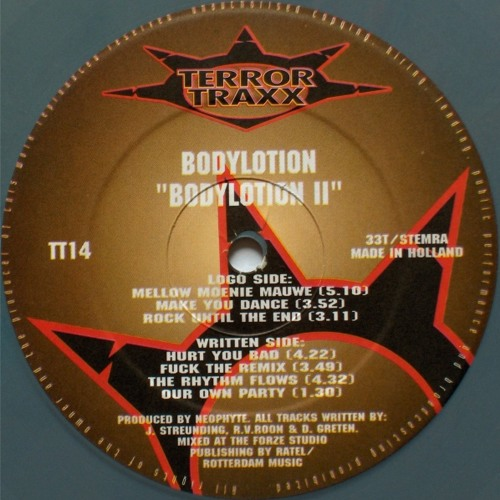 Bodylotion - Hurt you bad (TT14) (1994)