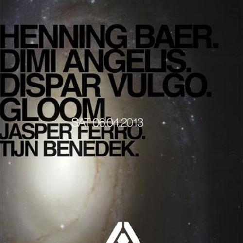 Dimi Angelis @ Compound, Studio 80, Amsterdam 06.04.2013